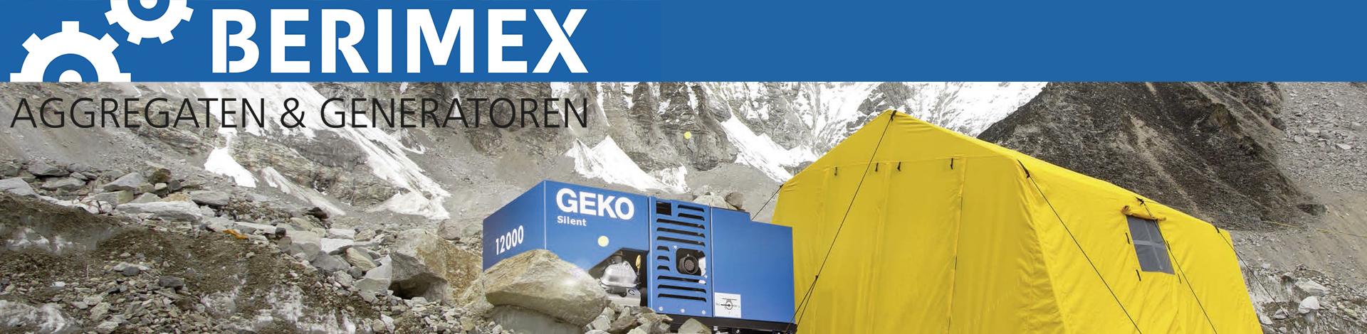 Berimex Aggregaten en Generatoren logo